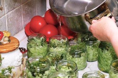 Prepare cucumber.