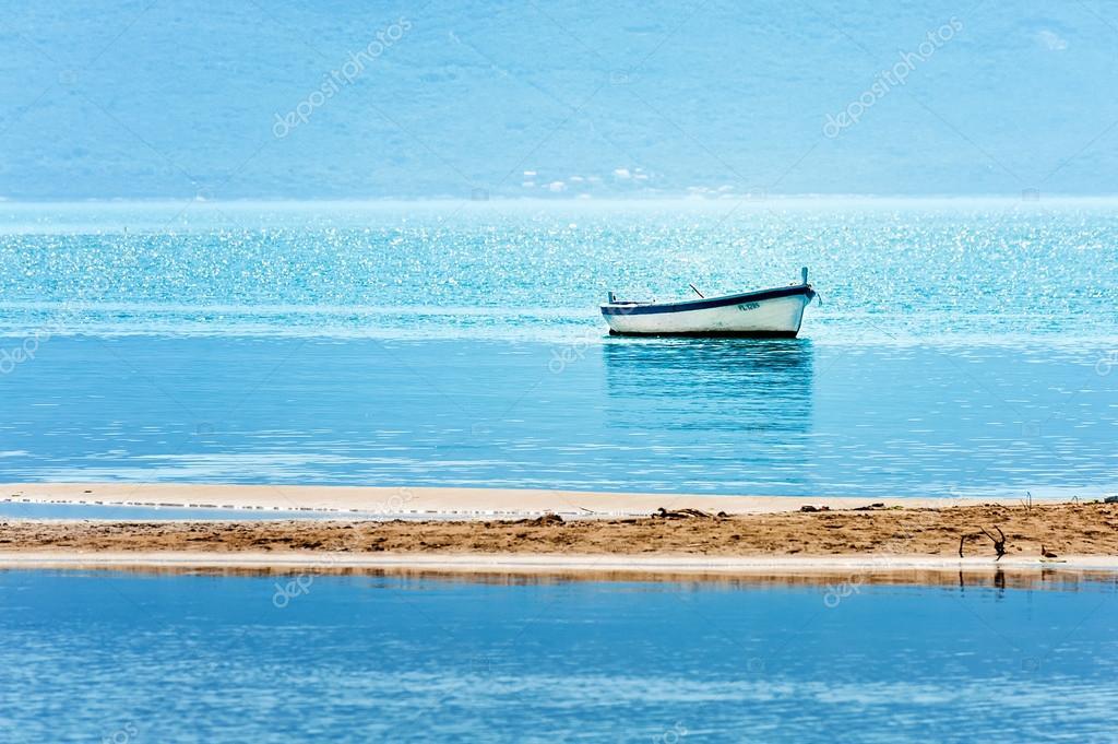 A peaceful scene from Croatian coast on the Adriatic Sea