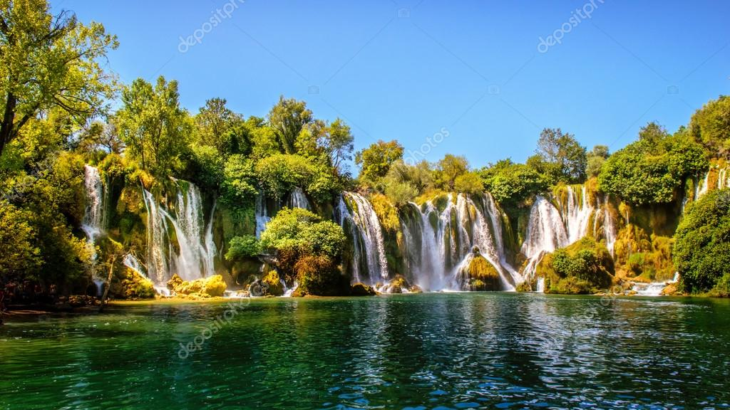 Kravice waterfall on the Trebizat River in Bosnia and Herzegovina