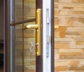 Fragment dveře zámek a klíče