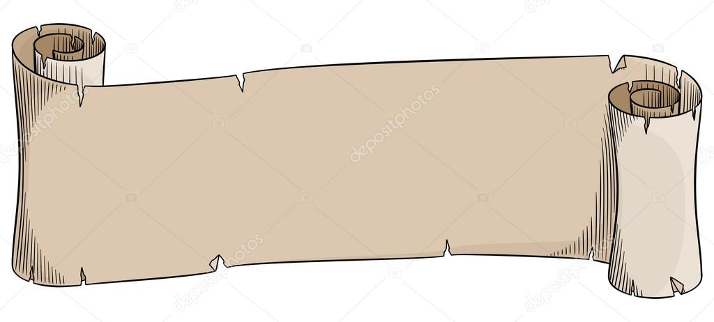 old parchment scroll stock vector antimartina 112397476