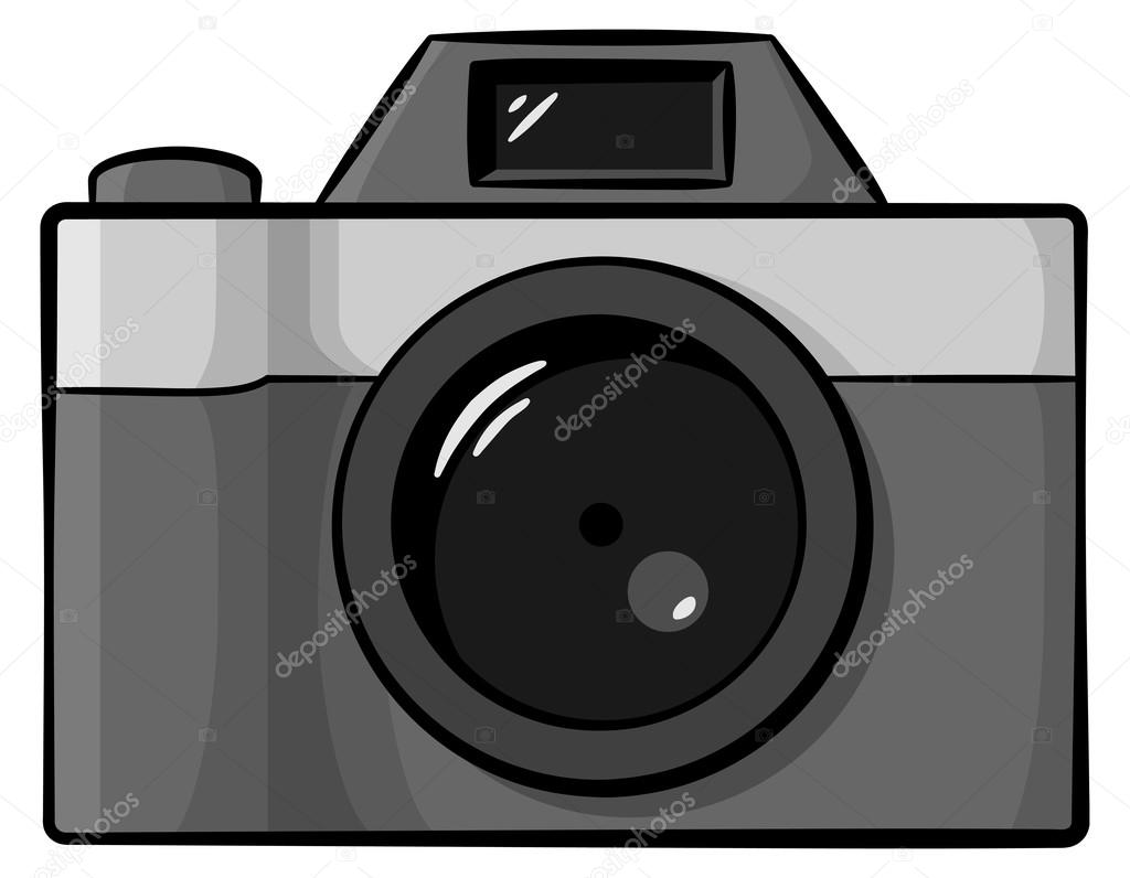 Dessin Appareil Photo appareil photo de dessin animé — image vectorielle antimartina
