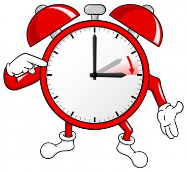 alarm clock change to daylight saving time