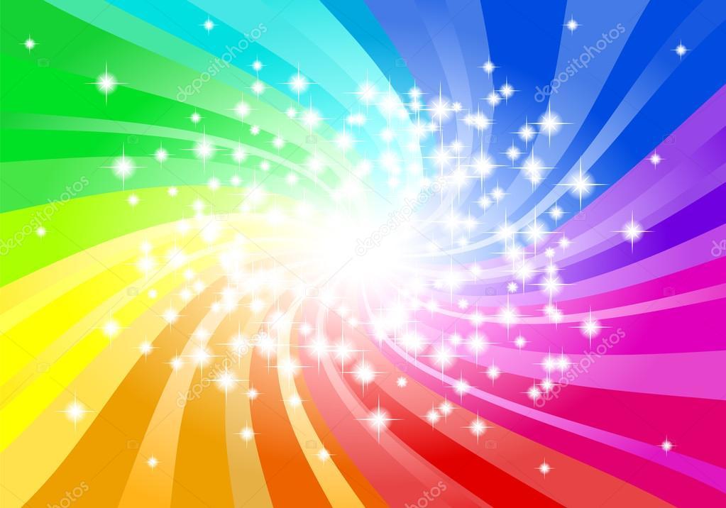 Фон радуги