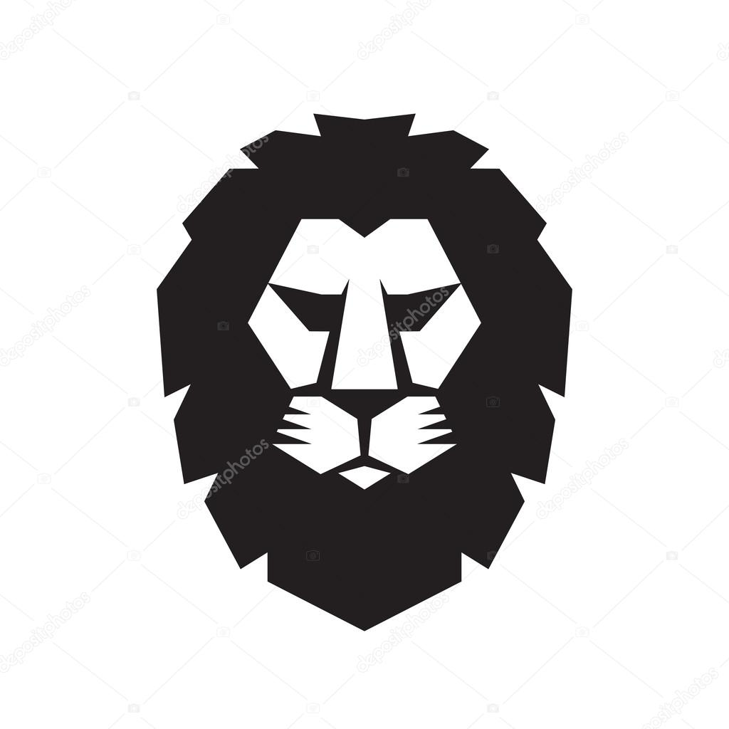 lion head vector sign concept illustration lion head logo wild rh depositphotos com lion head logo +shorts penn state lion head logo for sale
