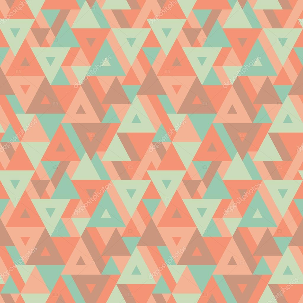 Abstract Geometric Background Seamless Vector Pattern For