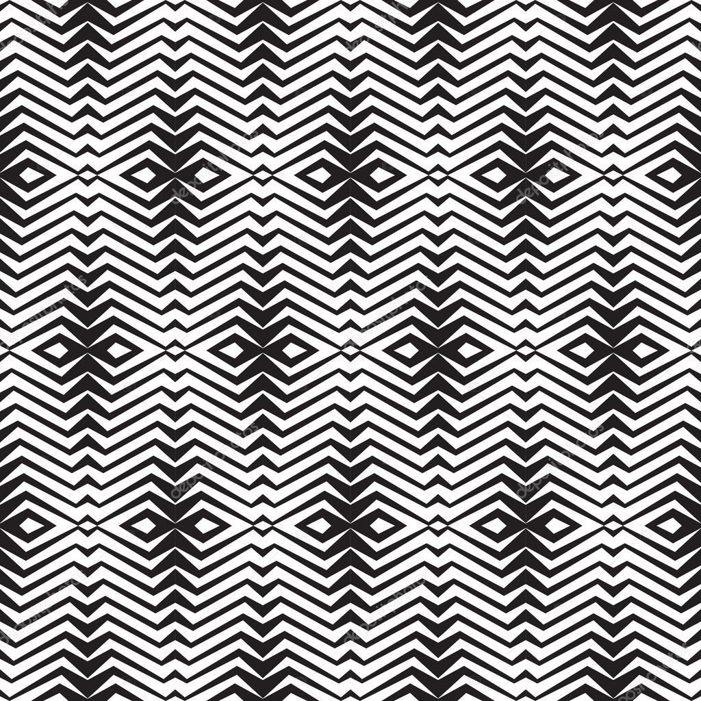 Zusammenfassung Geometrischen Hintergrund In Schwarz Weiß Farben