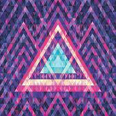 Fotografie Retro futurismus - abstraktní vektorové pozadí. Vektorové ilustrace vzor. Geometrické vektorové pozadí. Hudební leták  plakát koncept ilustrace. Ilustrace koncept CD