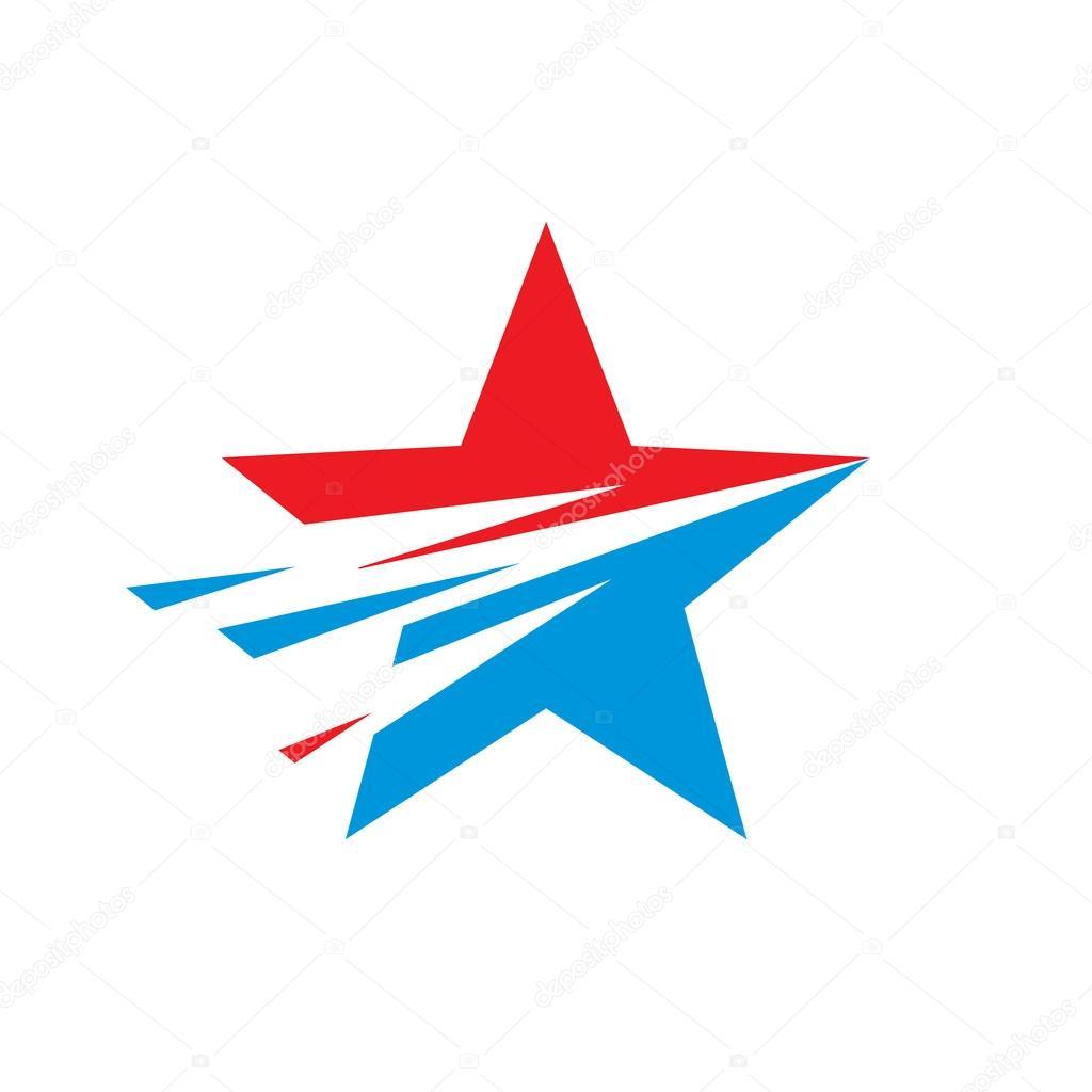 Star - vector logo concept illustration  Star sign  Star symbol  USA
