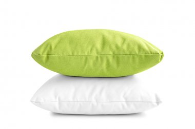 Two pillows or cushions