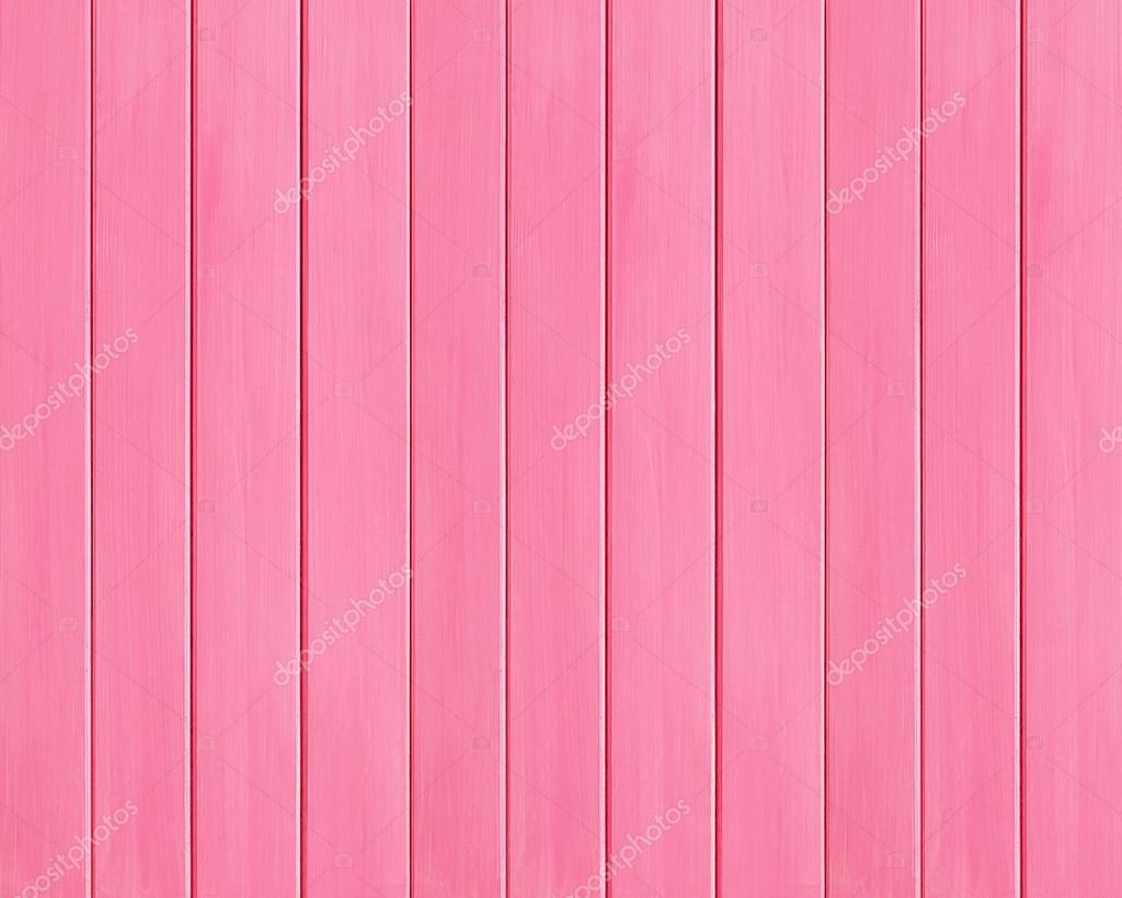 Tablón De Madera Color Rosa Textura Como Fondo