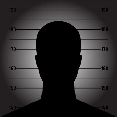 Picture of anonymous male silhouette