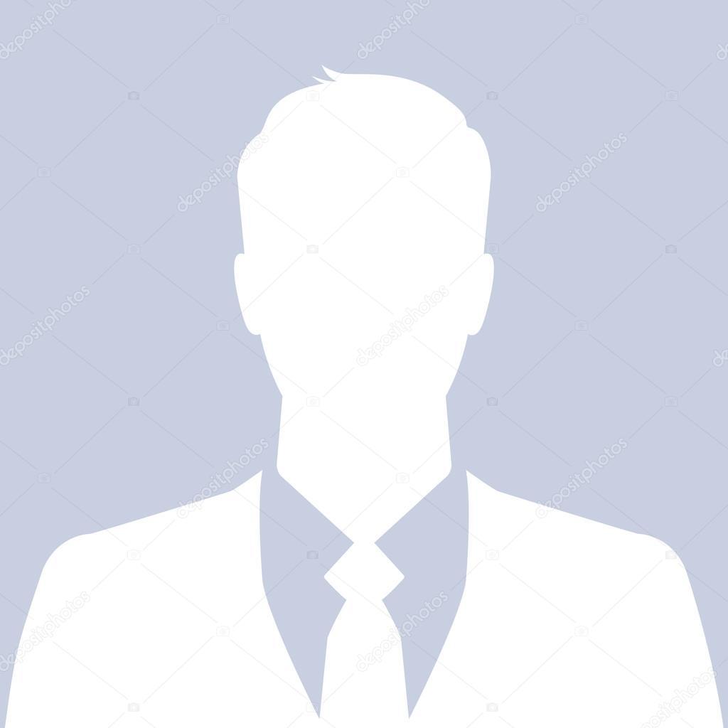 Geschäftsmann Symbol - kann als Avatar oder Profilbild