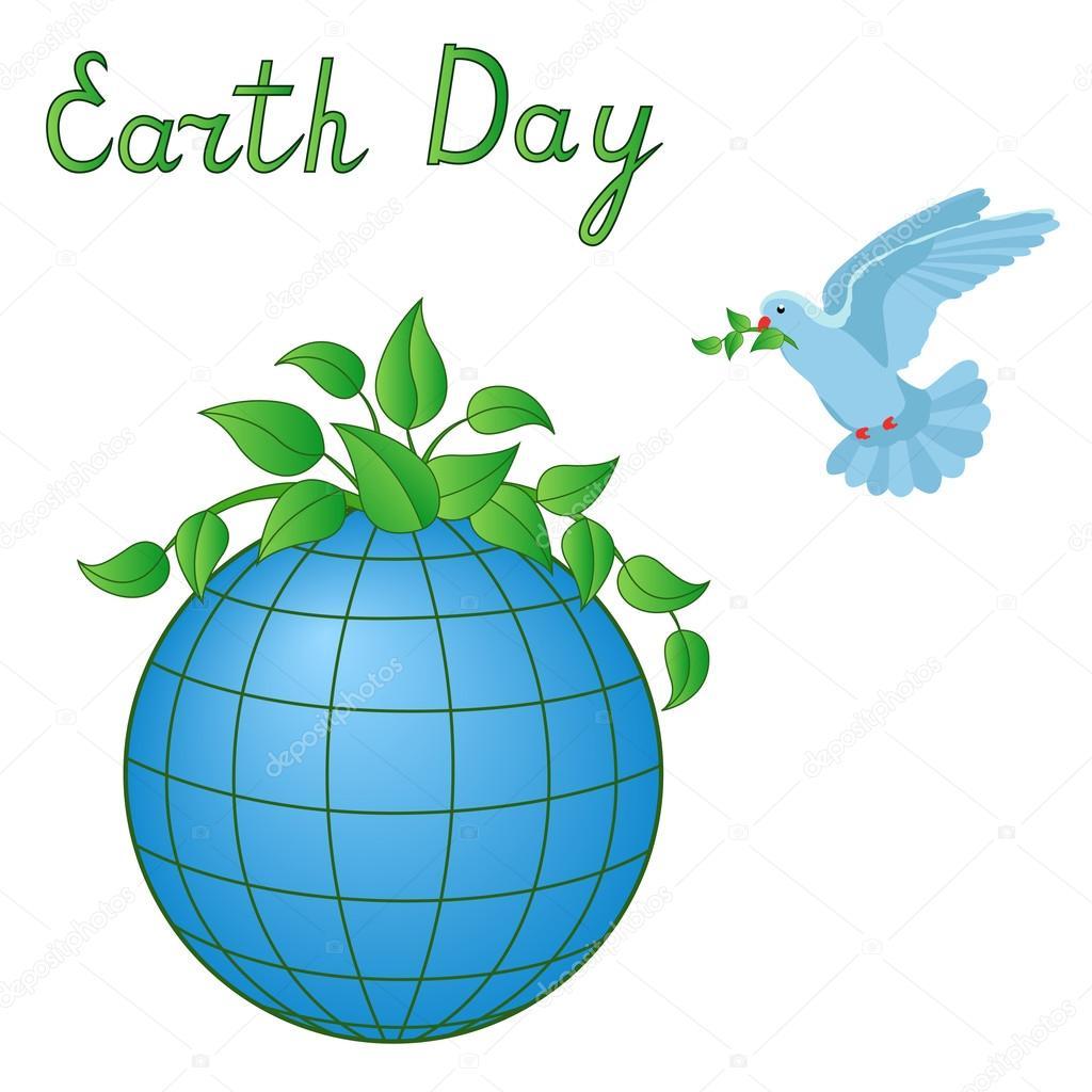 Earth Day Symbols Stock Vector Natreal 104614000