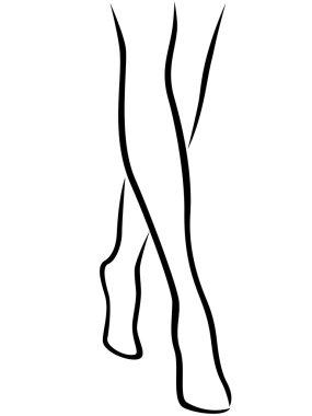 """Картина, постер, плакат, фотообои """"изящные босые женские ноги """", артикул 67197757"""