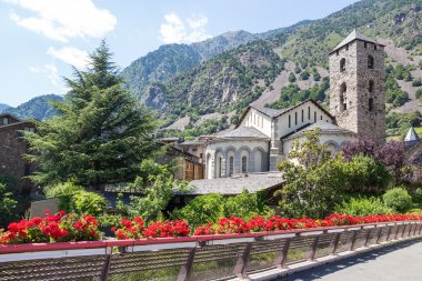 Beautiful view of Andorra La Vella