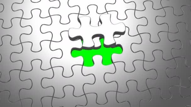 Animované puzzle, pojmy