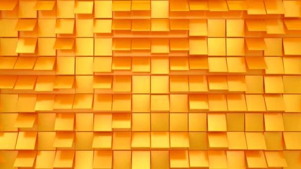 Háttér animált négyzetek. Absztrakt indítvány, hurok, 4 az 1-ben, 3D renderelés, 4k felbontás