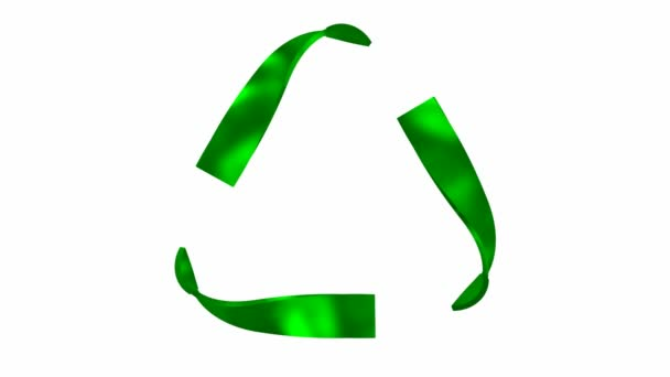 Animated Recycling Symbol