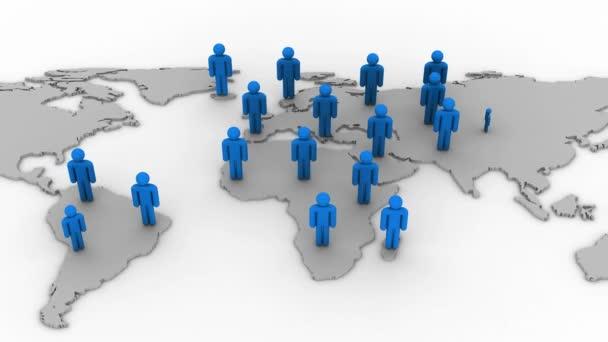 Wachstum des sozialen Netzwerks