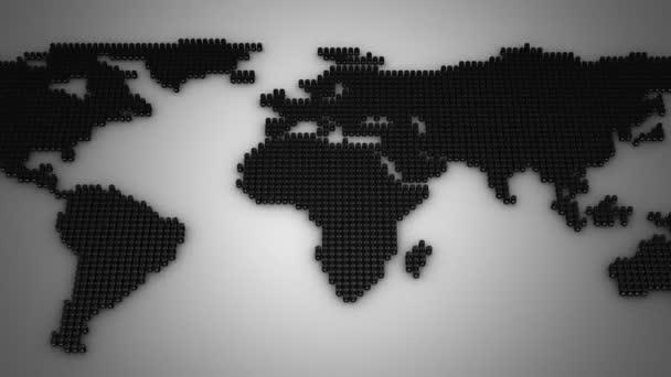 Sudy tvoří mapa světa