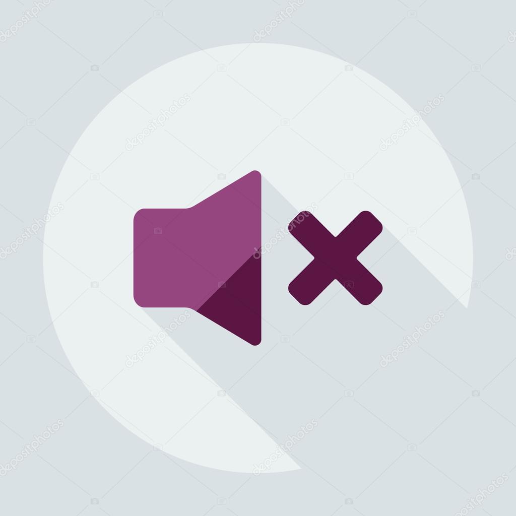 Design piatto moderno con giocatore icona ombra for Design piatto