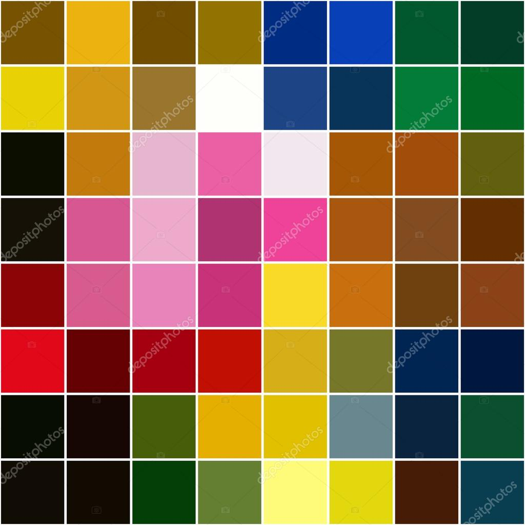 Fondo de diferentes colores separados mosaico de cuadrados - Mosaicos de colores ...