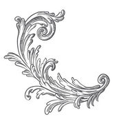 Photo Vintage baroque element
