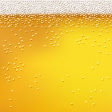 Beer foam background