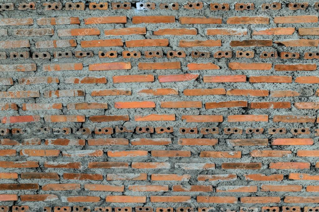 Brick Wall Buildings Under Instruction Stock Photo Itman47