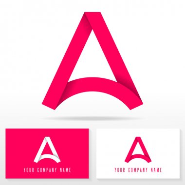 Letter A logo icon design template elements - Illustration