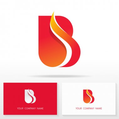 Letter B logo icon design template elements - Illustration