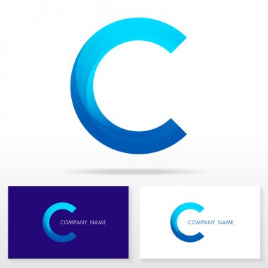 Letter C logo icon design template elements - Illustration
