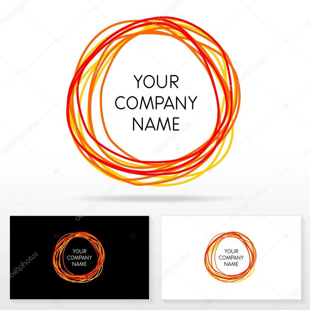 letter o logo icon design template elements illustration stock