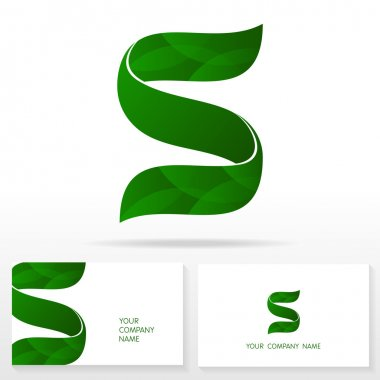 Letter S logo icon design template elements - Illustration.