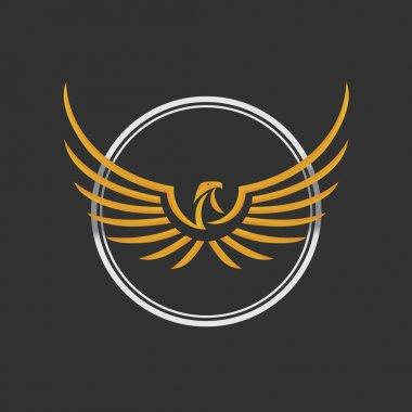 Eagle Logo Icon Design Template. Stock vector.