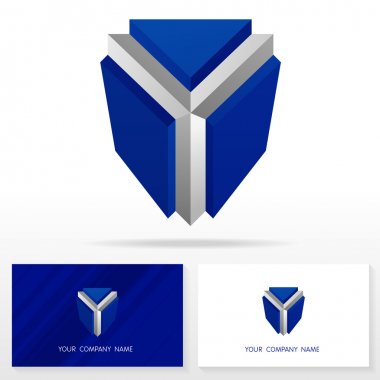 Letter Y logo icon design template elements - Vector Illustration.