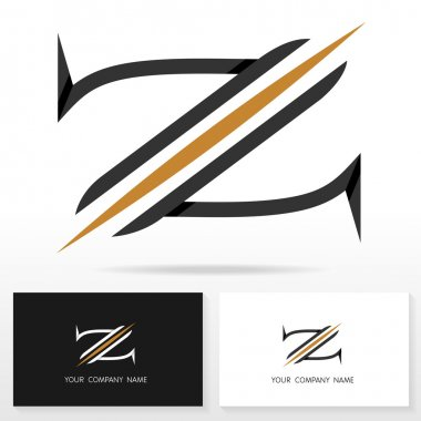 Letter Z logo icon design template elements - Stock Vector.
