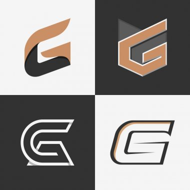 The set of letters G signs.