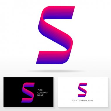 Letter S logo icon design template elements - Illustration.