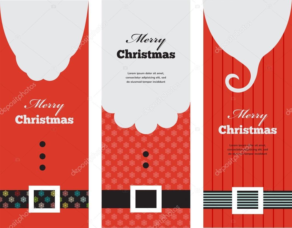 Három címkék divat sziluett csípő stílus Mikulás– stock illusztrációk d2facf99a8