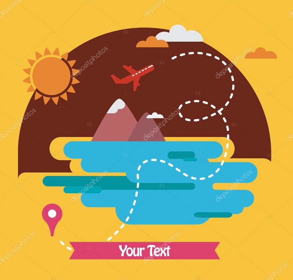 summer holidays, travel around the world