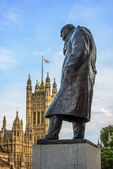 Statue von Sir Winston Churchill, Parliament Square, London