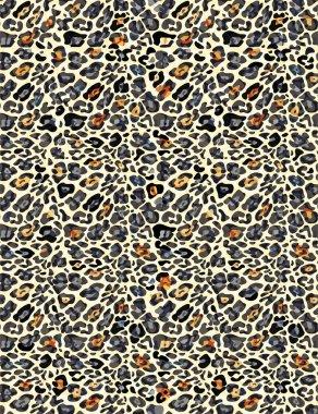 Seamless animal print pattern