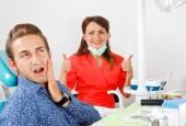 Fotografie Zahnschmerzen