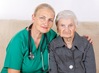 Caregiver and patient