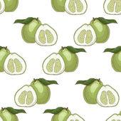 Bezešvé vzor s bergamotu