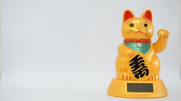 Chat porte bonheur chinois vid o brostock01 67812761 - Porte bonheur chinois chat ...