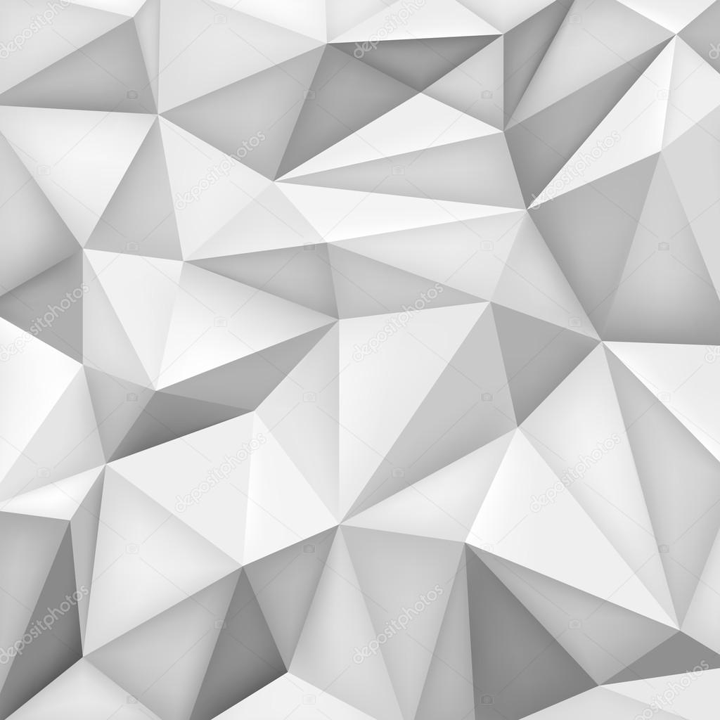 Low Polygon Shapes Background Triangles Mosaic Vector Design Creative Templates Grey Wallpaper By Panimoni