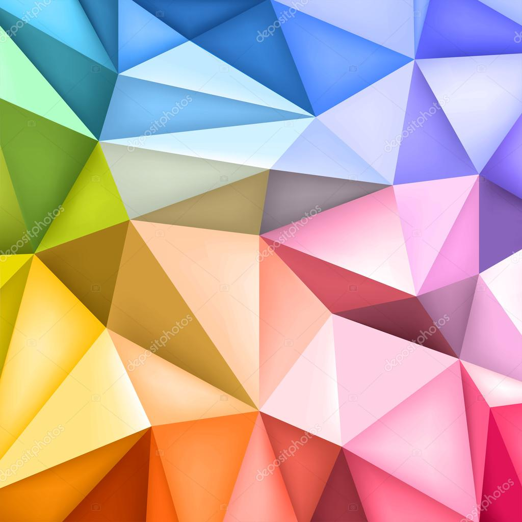 low polygon shapes background triangles mosaic creative background